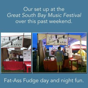 Our Set Up at Festival