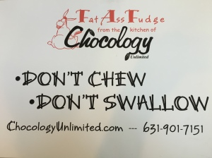 don't chew swallow