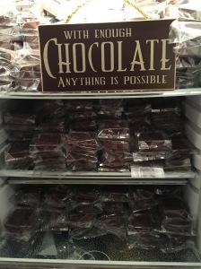 Chocolate Anything is Possible