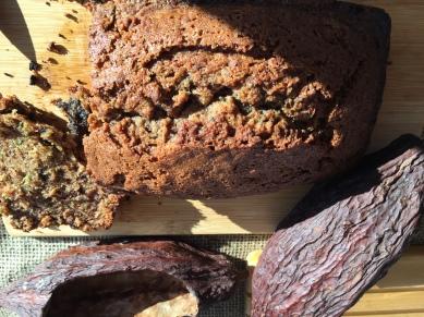 Cocoa Beans Zuc Bread