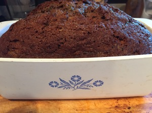 zuc bread in corningware