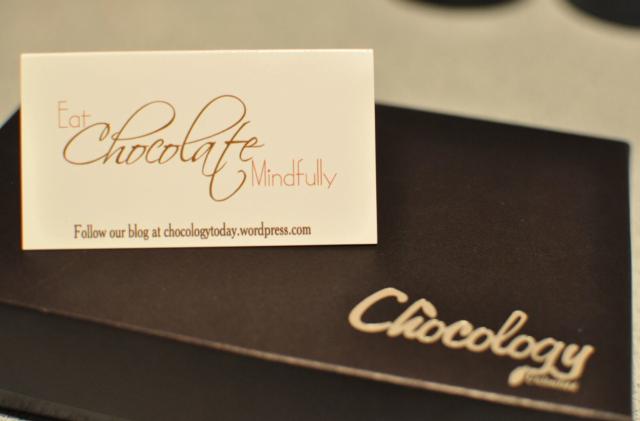 Chocology box card