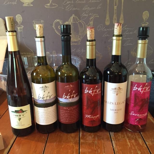6 wines