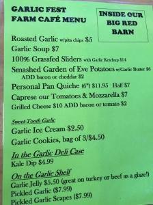 garlic-fest-menu